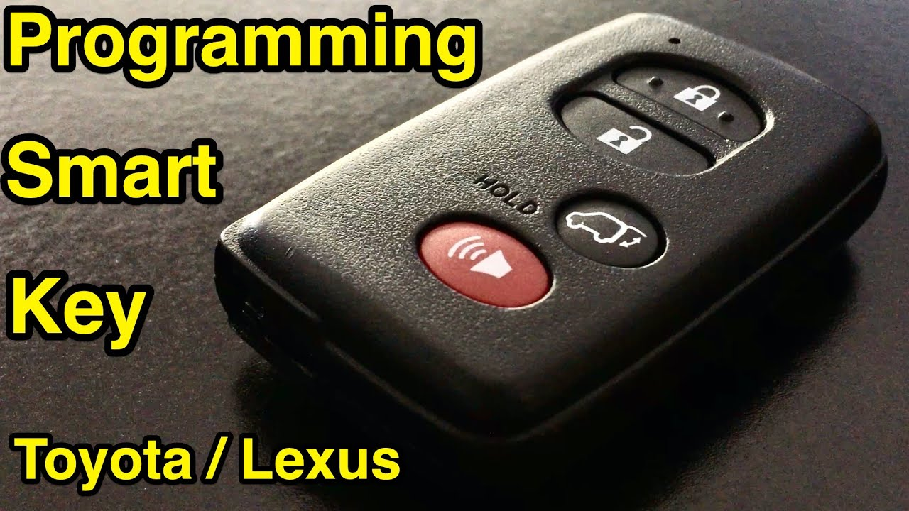 How To Program A Smart Key On Any Toyota Lexus Or Scion Car