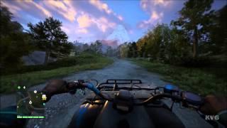 Far Cry 4 - Vehicle - Quad ATV Free Roam Gameplay (PC HD) [1080p]