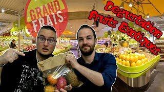FRUITS EXOTIQUES ET INCONNUS DE CHEZ GRAND FRAIS