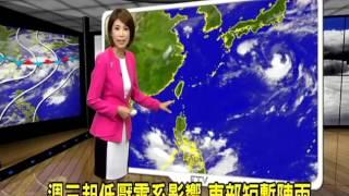 2016/08/23 週日各地天氣穩定 台北高溫35.6度