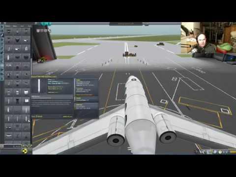 Kerbal Space Program   Ekranoplan Falcon 900   Livestream