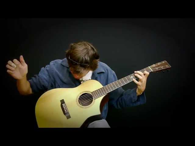 Clawhammer Guitar Performance  (SHADY GROVE in Orkney Tuning) -  Steve Baughman