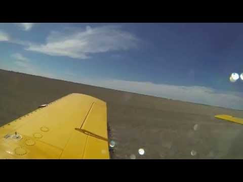 Morvenvale - aerial spraying with GoPro