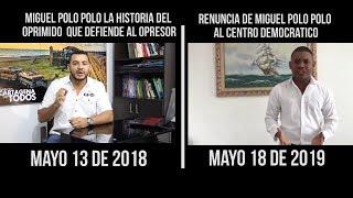 Miguel Polo Polo - Renuncia al Partido Centro Democrático