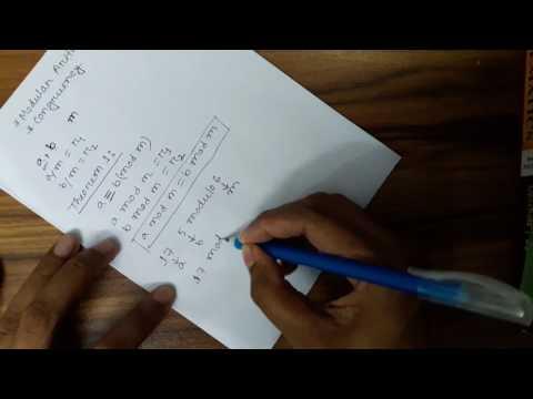Modular Arithmetic & congruency (Bangla)