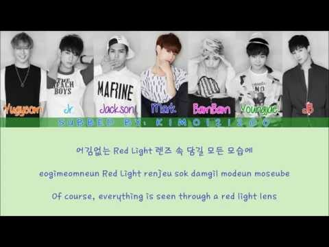 GOT7 - Good Tonight [Hangul/Romanization/English] Color & Picture Coded HD