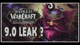 World of Warcraft - 9.0 Age of Awakening Leak