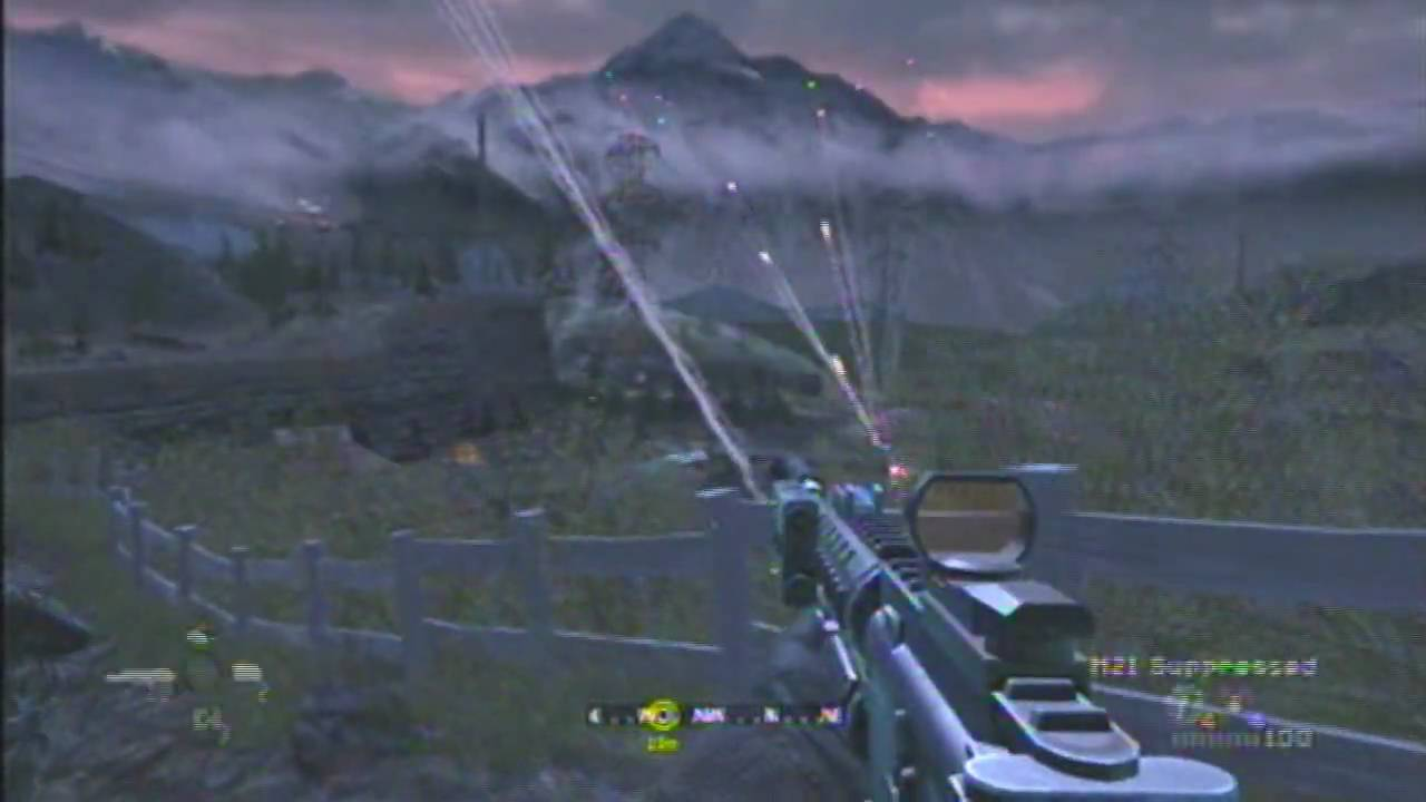 Call Of Duty 4 04 Blackout Helping Kamarov Youtube