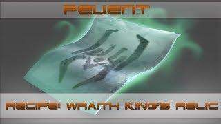 Какие предметы выпадают? - Рецепт Wraith King's Relic [Recipe: Wraith King's Relic]