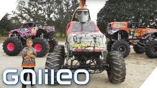 Mini-Monstertruck-Show für Kinder | Galileo | ProSieben