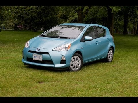 2012 Toyota Prius C Review Youtube