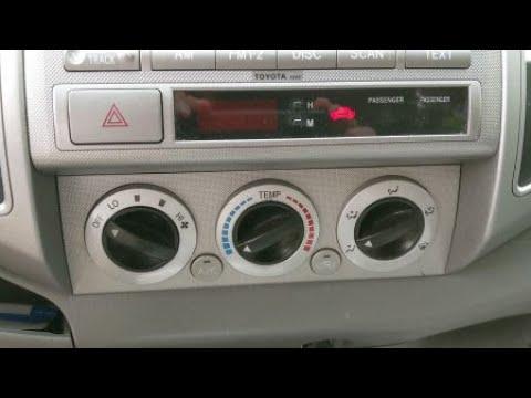 2010-2013 Toyota Tundra Climate Control  AC Heater A//C Temperature Control Unit