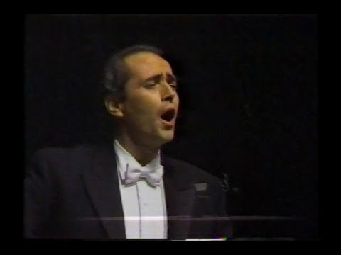 Jose Carreras Maria In West Side Story By Bernstain Youtube