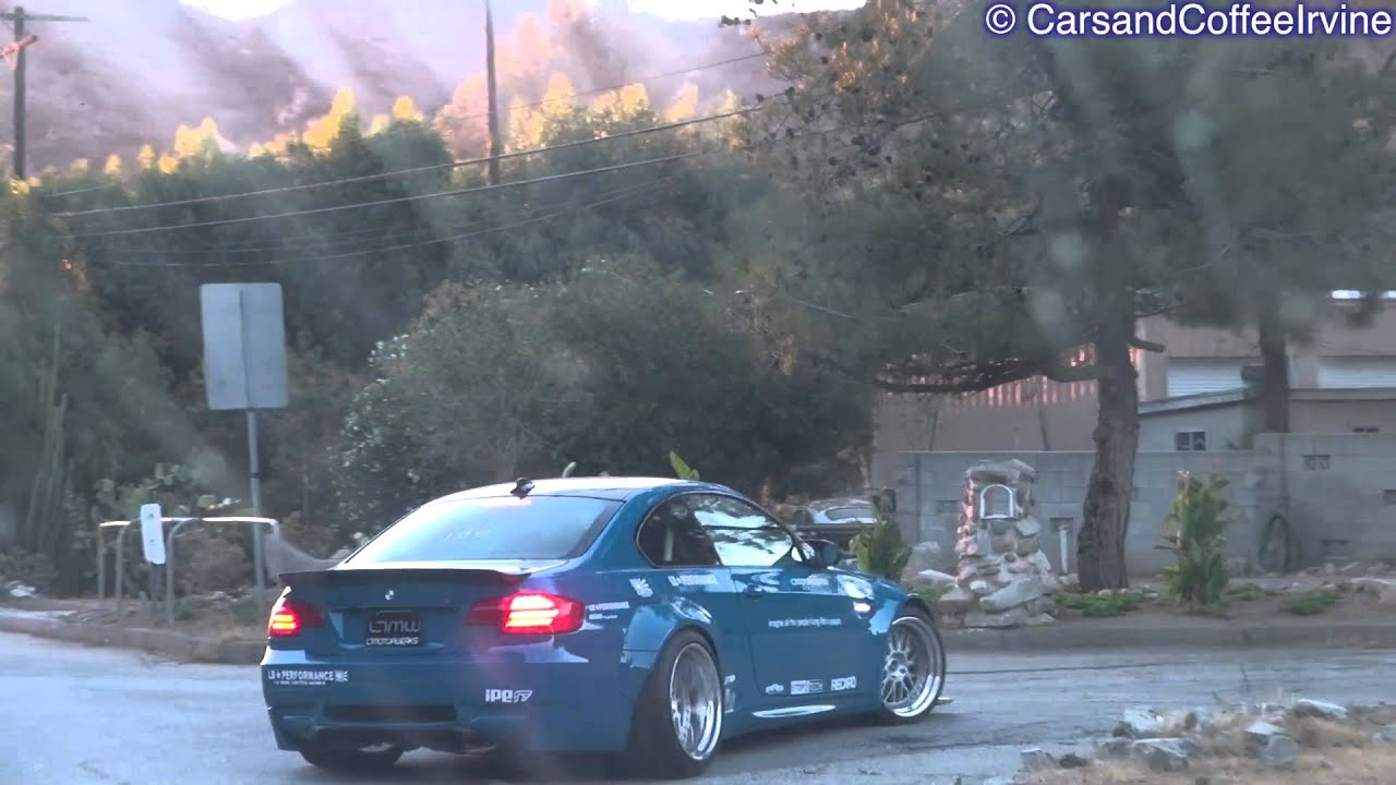 Liberty Walk Widebody Bmw M3 Coupe Revs Accelerations