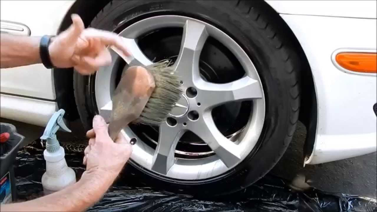 car wheel detailing part 1 doovi