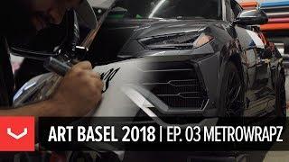Vossen Art Basel 2018   Episode 3   Surge Visits Metrowrapz