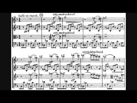 Arnold Schönberg - String Quartet No. 1 in D minor, Op. 7
