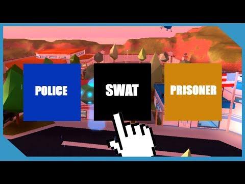 SWAT TEAM INVADES ROBLOX JAILBREAK