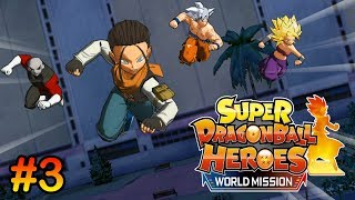 Super Dragon Ball Heroes World Mission #3 | 4K UHD