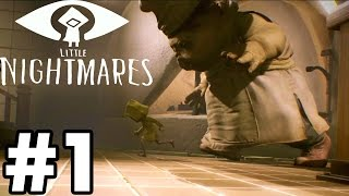 I HATE SCARY GAMES | Little Nightmares Part 1