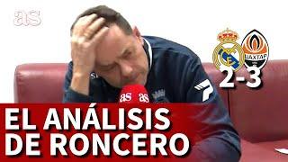 REAL MADRID 2 SHAKHTAR 3 | Monumental enfado de Roncero con Zidane | Diario AS