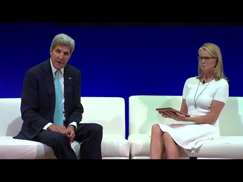 Secretary Kerry Gives Remarks at UN Foundation Social Good Summit
