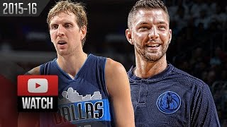 Dirk Nowitzki & Chandler Parsons Full Highlights at 76ers (2015.11.16) - 41 Pts