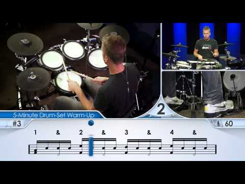 5-Minute Drum-Set Warm-Up (Beginner) - Drum Lesson