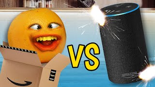 Annoying Orange vs Amązon Alexa! (ft. Rebecca Parham)