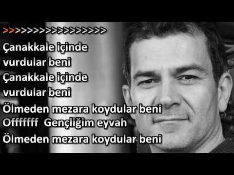 Canakkale türküsü  karaoke