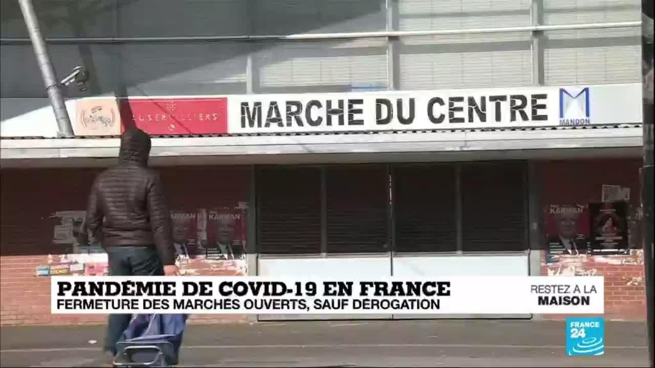 Coronavirus en France : Fermeture des marchés ouverts, sauf dérogation