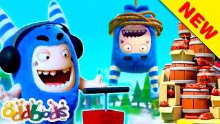 ODDBODS | Dangerous Duo | Cartoons For Children