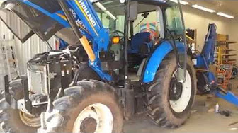 Changing a fuel filter on a mccormick cx95 tractor part 2 aka videos new holland t495 fuel filter change publicscrutiny Gallery