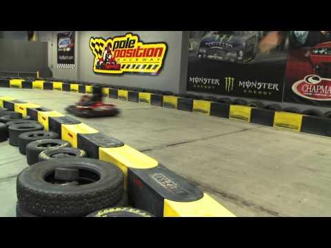 Jerry Miculek, Go Kart Racer? - Clip From Hot Shots TV Show
