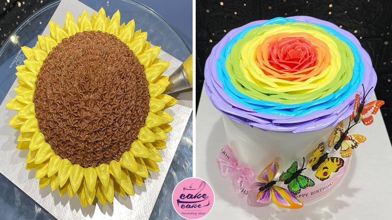 Top Beautiful Topping Cream Cake Decorating Tutorials | So Yummy Colorful Cake | Making Cake
