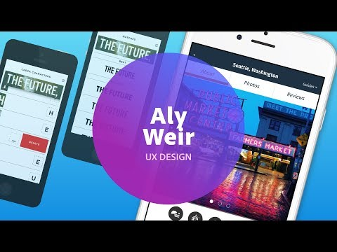 Live UI/UX Design With Aly Weir - 3 Of 3