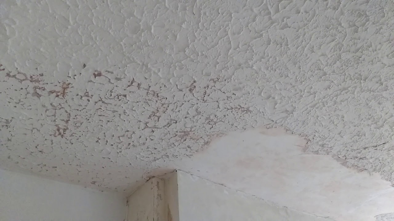 DO NOT remove your artex ceiling. WATCH THIS FIRST!!!