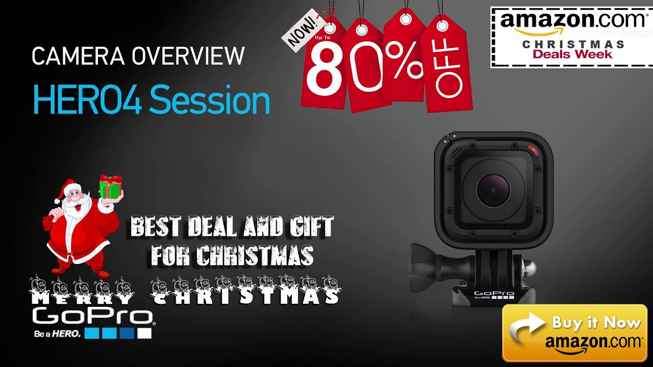 GoPro sesssion 80% off at amazon best christmas deal - YouTube