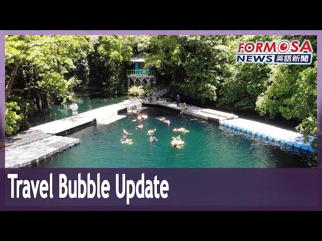 Taiwan updates travel bubble program as sales lag