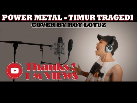 GILA !!! SADIS !!! Power Metal - Timur Tragedi Cover