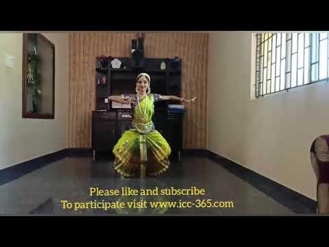Indian classical dance by beautiful girl