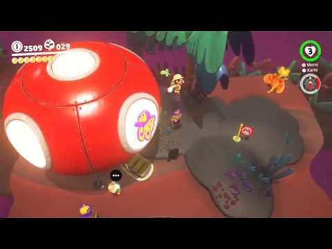 Super Mario Odyssey Verlorenes Land 8 Aussicht Auf Eiland