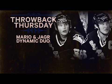TBT:  Mario and Jagr score 50th in same game