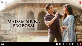 Madam Sir Ka Proposal | Dialogue Promo 1 | Bharat | Salman Khan | Katrina Kaif | 5th June 2019