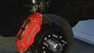 Big Disc Brake Upgrade for the Mustang - Awesome Wilwood Superlight 6R for Muscle Cars