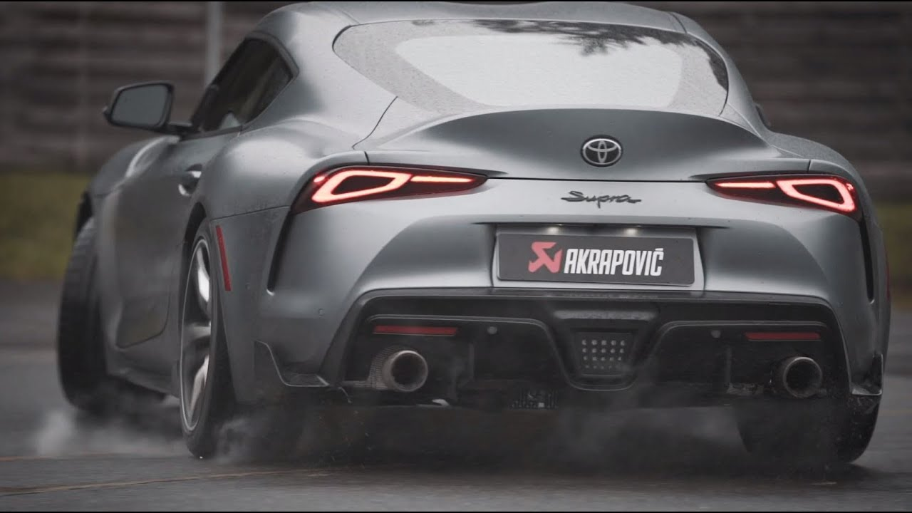 A90 Toyota Gr Supra Gains Akrapovic Exhaust System