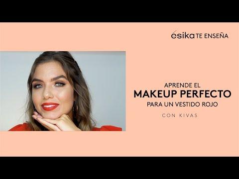 Maquillaje Para Vestido Rojo ésika