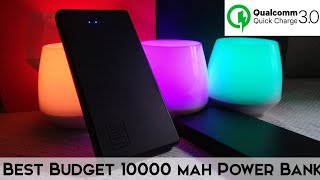 Best Budget Quick Charging Supported Power Bank 10000 mah Lcare