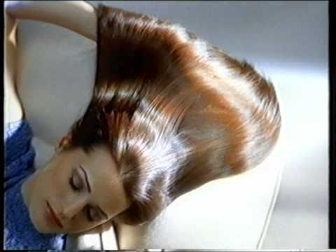 Yasmin Le Bon 1996 UK Pantene commercial