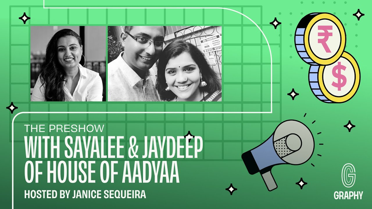 Download The Preshow With @Janice Sequeira: In conversation with Jaydeep and Sayalee of House of Aadyaa